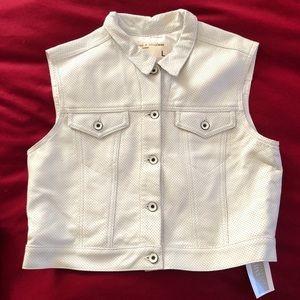 Rag & Bone leather vest